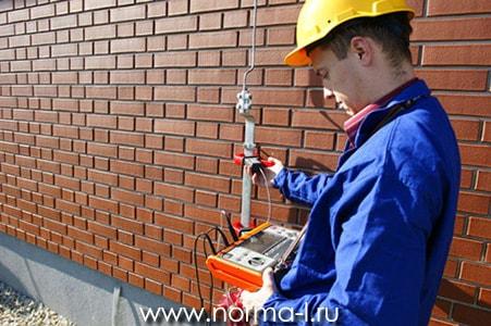 Испытание воздушных линий электропередач напряжением выше 1 кВ.
